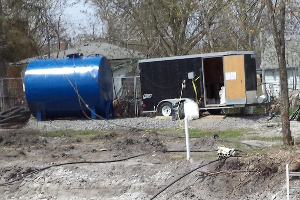 treatment trailer